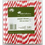 Paper Straw Red Stripe Regular (Carton 2500)