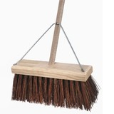 All Bassine Yard Broom 350mm