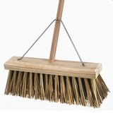 Bassine Cane Yard Broom 450mm