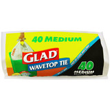 Glad Wave Top Kitchen Tidy 27L (Pack 50)