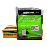 Bin Liners 240L All Purpose Black (Carton 100)