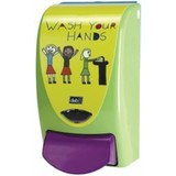 Dispenser Deb Proline 'Wash Your Hands' 1L