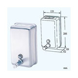Dispenser Soap Stainless Steel 1.2L Vertical