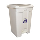 Handy Step Bin 68L White