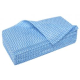 Merriwipe Heavy Duty Wipes Blue Flat