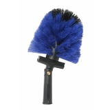 Cobweb Brush Domed Swivel Hdl