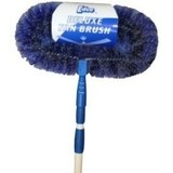 Fan Brush Deluxe with Extention Handle