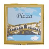 Pizza Box 15 inch White Rialto (Carton 50)