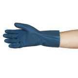 Glove Rubber Process Blue Medium (Pair)