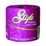 Style Toilet Tissue 2 ply 400 sheet Unscented (Carton 48)