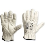 Riggeramate Revolution Glove Large Beige - Pair