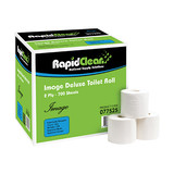 Deluxe Rapid Clean Toilet Tissue 700 sheet 2ply (Carton 48)