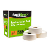 Rapid 2PLY Jumbo Toilet Tissue (Carton 8)