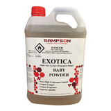 Exotica Baby Powder 5L Fragrance
