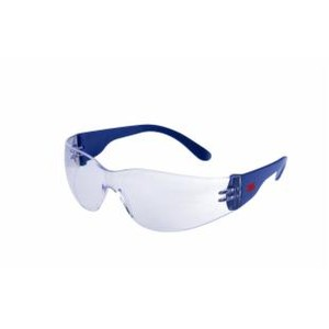 Protective Glasses Blue Frame Clear Lens