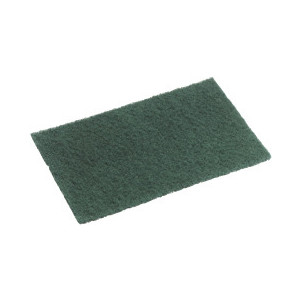 Green Scour Pad  Nylon 23x15 Pack 10