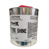 Tyre Shine 4L Solvent with Silicon