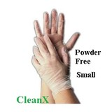 Glove Vinyl Powder Free Small Clear (GV0004)