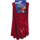 Liquid Resistant Gloves Red Long