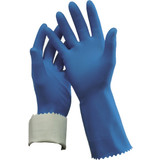 Flock Lined Rubber Glove Size 10 Pair
